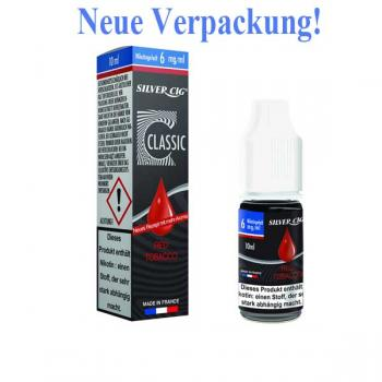 E-Liquid Silver CiG Red Tobacco 10 ml